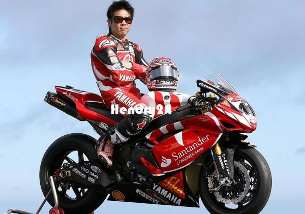 Noriyuki Haga Yamaha Italia