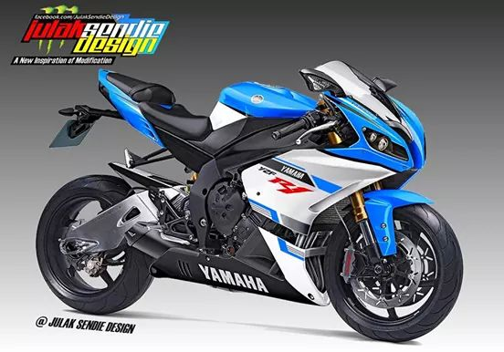 New YZF-R1 rendering
