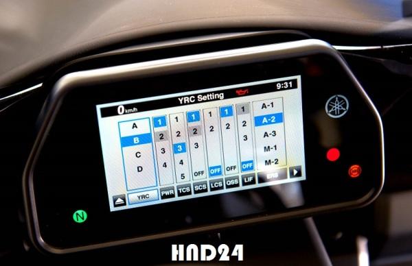Yamaha Ride Control (YRC) YZF-R1 2015