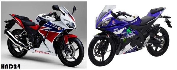 CBR150R vs YZF-R15