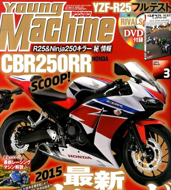 CBR 250 RR Young Machine version