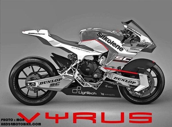 Vyrus Moto2 bike (1)