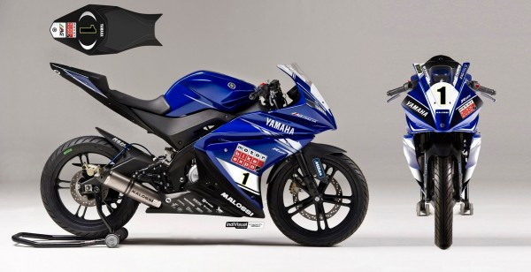 Yamaha YZF-R125 race version (2)