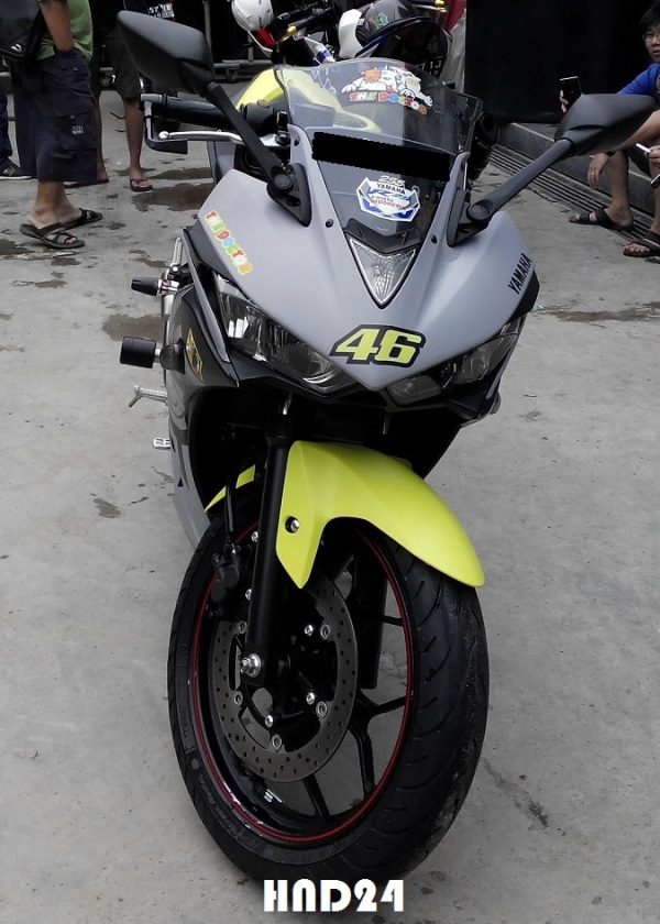 Yamaha R25 winter test (5)
