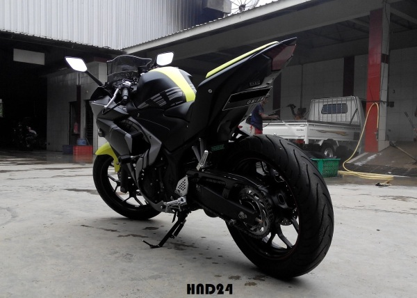Yamaha R25 winter test (4)