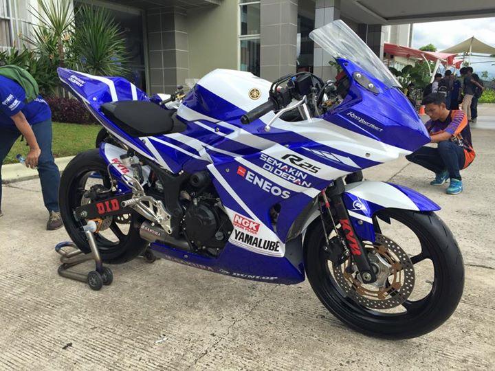 kumpulan Yamaha R25 Modifikasi Balap