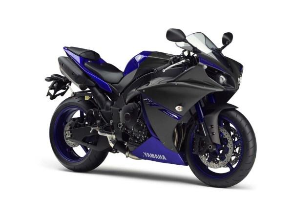 Yamaha YZF-R1 2014 Race blu