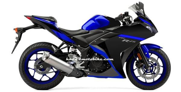 Yamaha R25 Race blu (2)