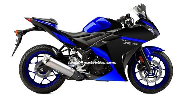 Yamaha R25 Race blu (1)