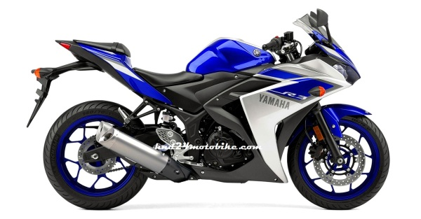 Yamaha R3 with R6 exhaust