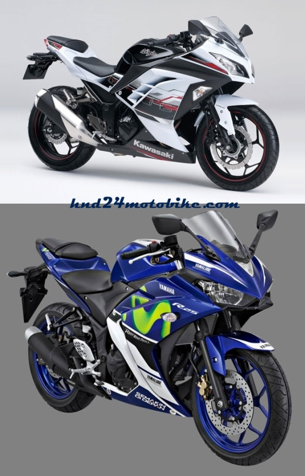 Ninja 250R vs YZF-R25