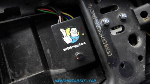 Ditech piggyback Yamaha R25 (1)
