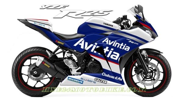 Yamaha R25 Avintia Racing