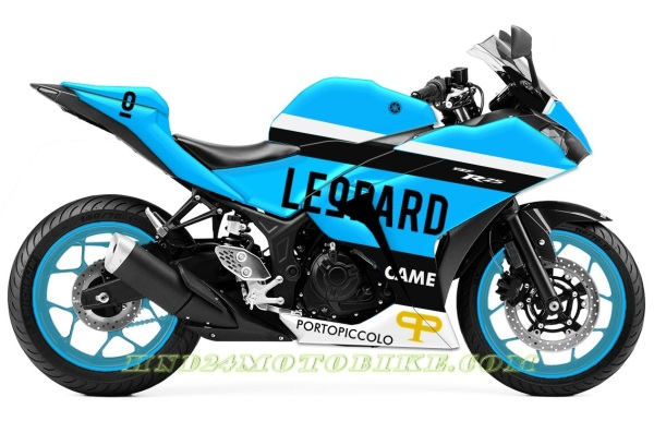Yamaha R25 Leopard Moto3