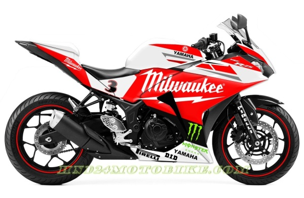 Yamaha R25 Milwaukee