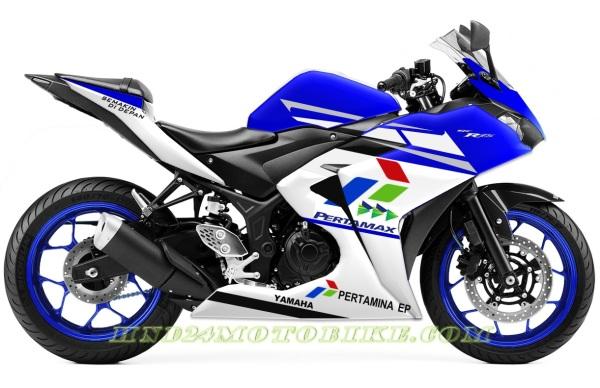 Yamaha R25 Pertamina Indonesia