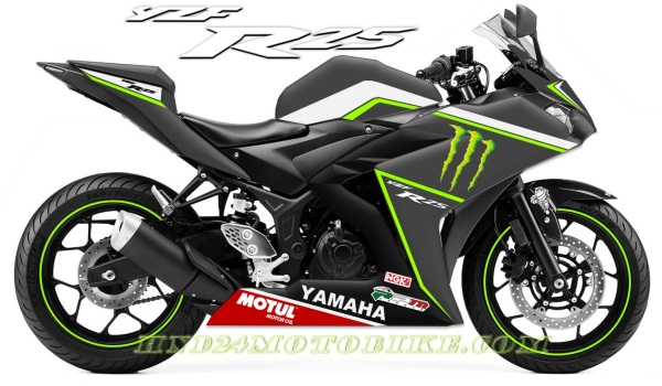 Yamaha R25 Matte Racing Grey