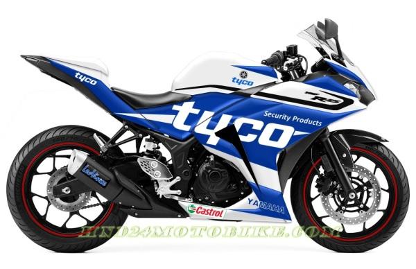 Yamaha R25 Tyco Guy Martin