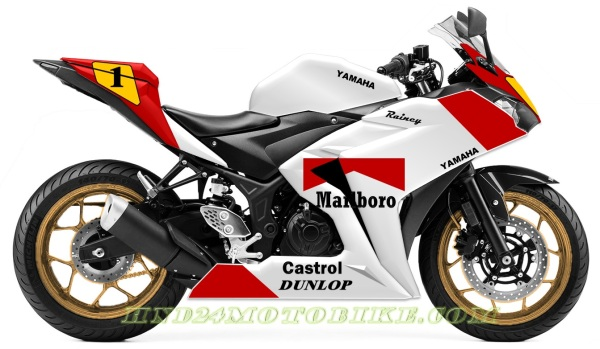 Yamaha R25 Tribute to Wayne Rainey