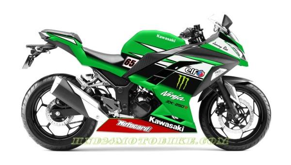 Ninja 250R FI Jonathan Rea WSBK